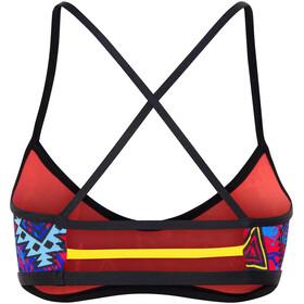 TYR Santa Ana Mojave Trinity Bikini Top Black/Multi